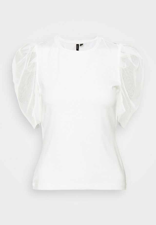 VMPANDA - Print T-shirt - snow white