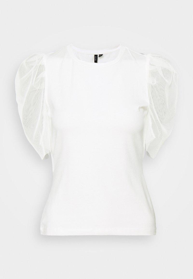 Vero Moda Petite - VMPANDA - Print T-shirt - snow white