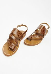 White Sun - VIOLA  - T-bar sandals - tan - 1