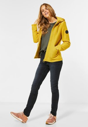 Fleece jacket - gelb