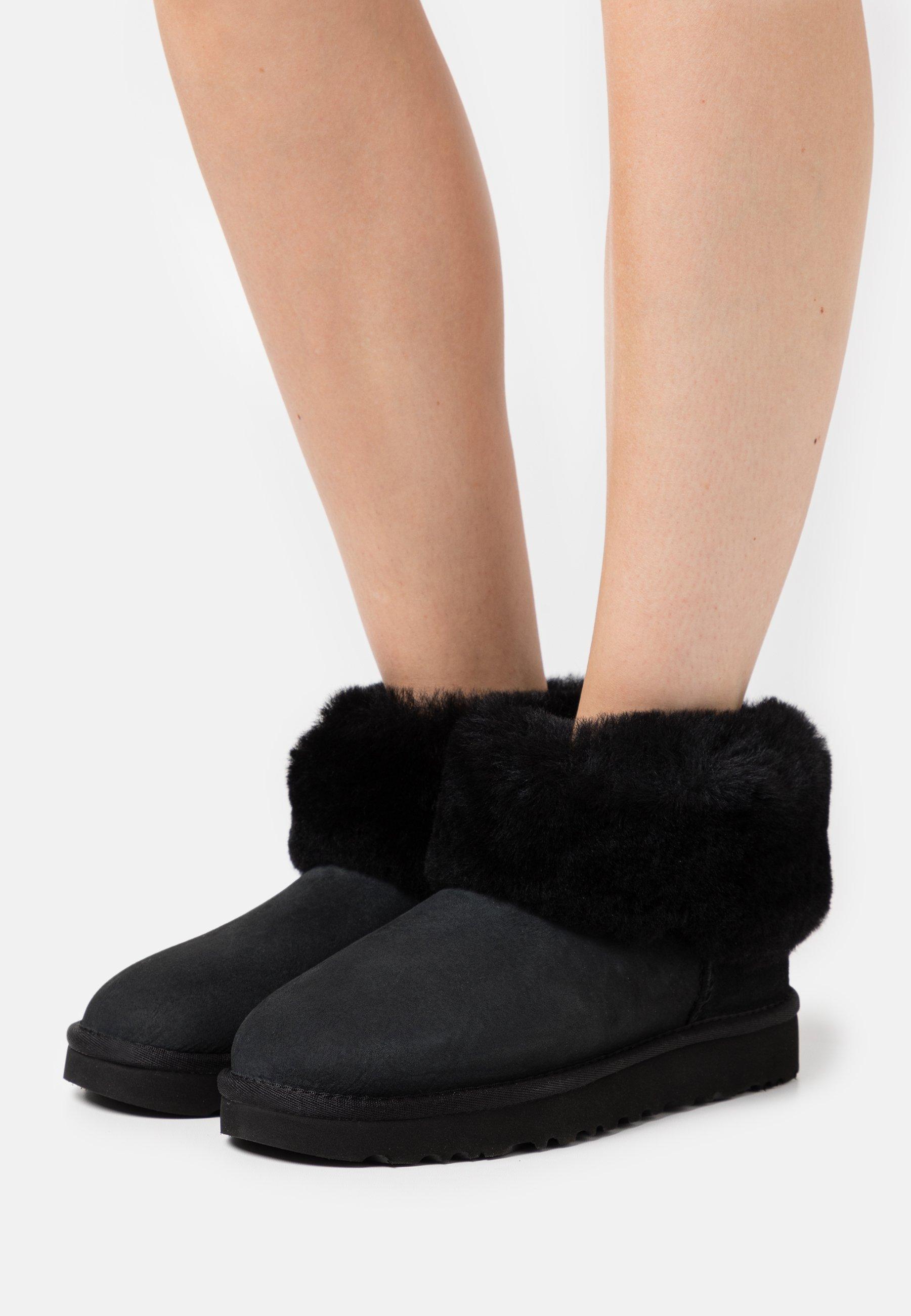 UGG CLASSIC MINI Støvletter black Zalando.no