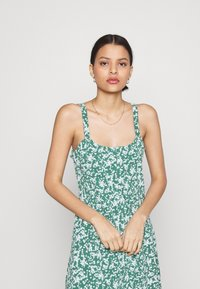 Cotton On - TURNER STRAPPY MINI DRESS - Jerseyjurk - heritage green - 3