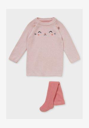 SET - Jumper dress - rose