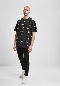 Starter - T-shirt imprimé - black - 1
