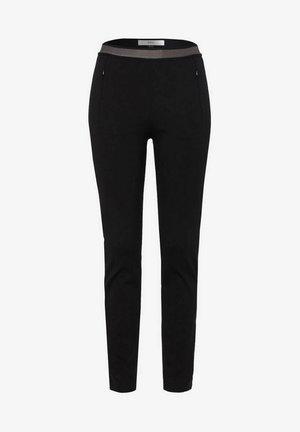 STYLE LIV - Trousers - black