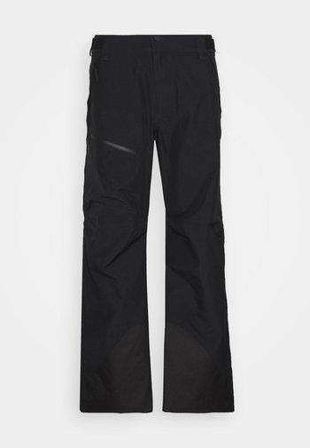 VERTICAL 3L PANTS - Zimní kalhoty - black