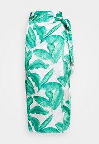 Never Fully Dressed - MULTI USE BANANA LEAF JASPRE - Pencil skirt - green - 5