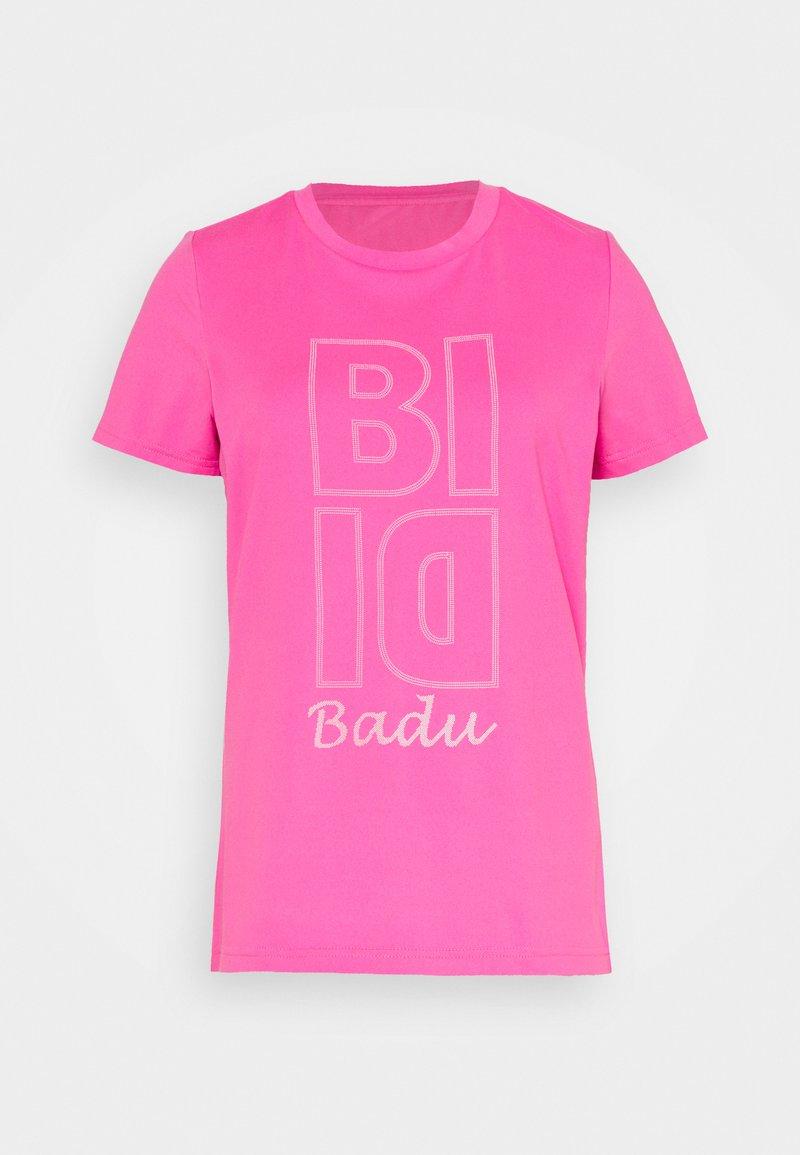 BIDI BADU - HENNI LIFESTYLE TEE - Funkční triko - pink