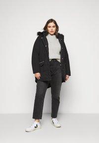Evans - Winter coat - black - 0