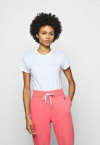 Polo Ralph Lauren - TEE SHORT SLEEVE - Camiseta básica - white - 0
