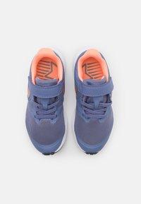 Nike Performance - STAR RUNNER 2 UNISEX - Neutral running shoes - world indigo/metallic red bronze/atomic pink - 3