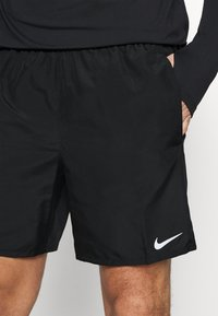 Nike Performance - CHALLENGER - Sports shorts - black/silver - 3