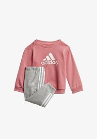 adidas Performance - BADGE OF SPORT FRENCH TERRY JOGGER - Trainingspak - pink - 0