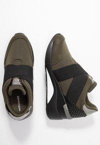 Mariamare - PRINCE - Nazouvací boty - khaki - 3
