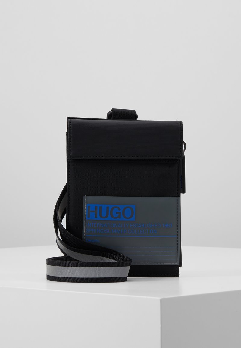 HUGO - VOYAGER NECK POUCH - Rejsetilbehør - black