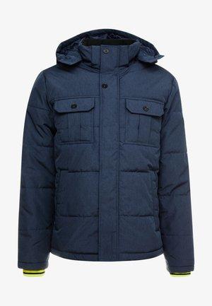 JCOWILL PUFFER - Giacca invernale - navy blazer/melange