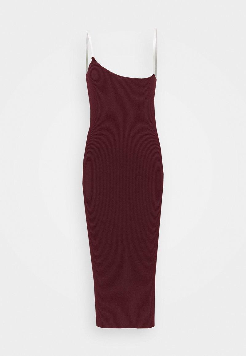 Missguided Petite - PERSPEX MIDAXI DRESS - Koktejlové šaty/ šaty na párty - plum