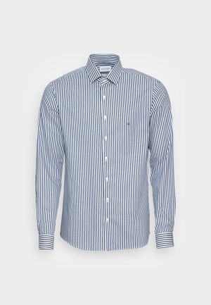 PRINTED STRETCH SLIM - Shirt - black