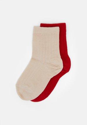 2 PACK UNISEX - Sokker - red