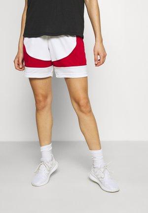 N3XT PREMIUM BASKETBALL TEAM AEROREADY PRIMEGREEN SHORTS - Pantalón corto de deporte - white/team power red