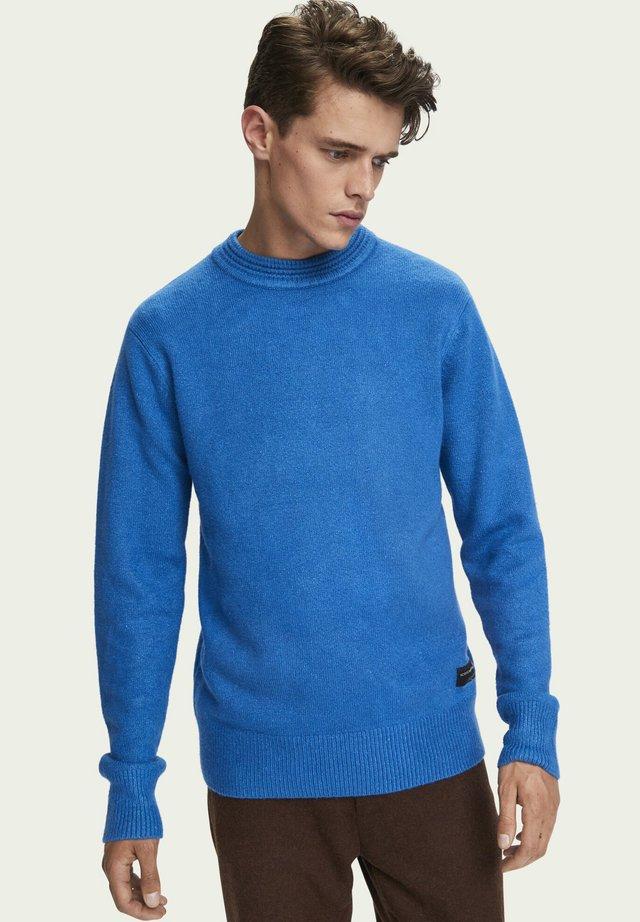 Jumper - electric blue melange