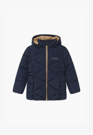 NKFMILTON PUFFER CAMP - Winter coat - dark sapphire