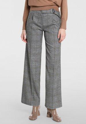 Trousers - grau-multicolor