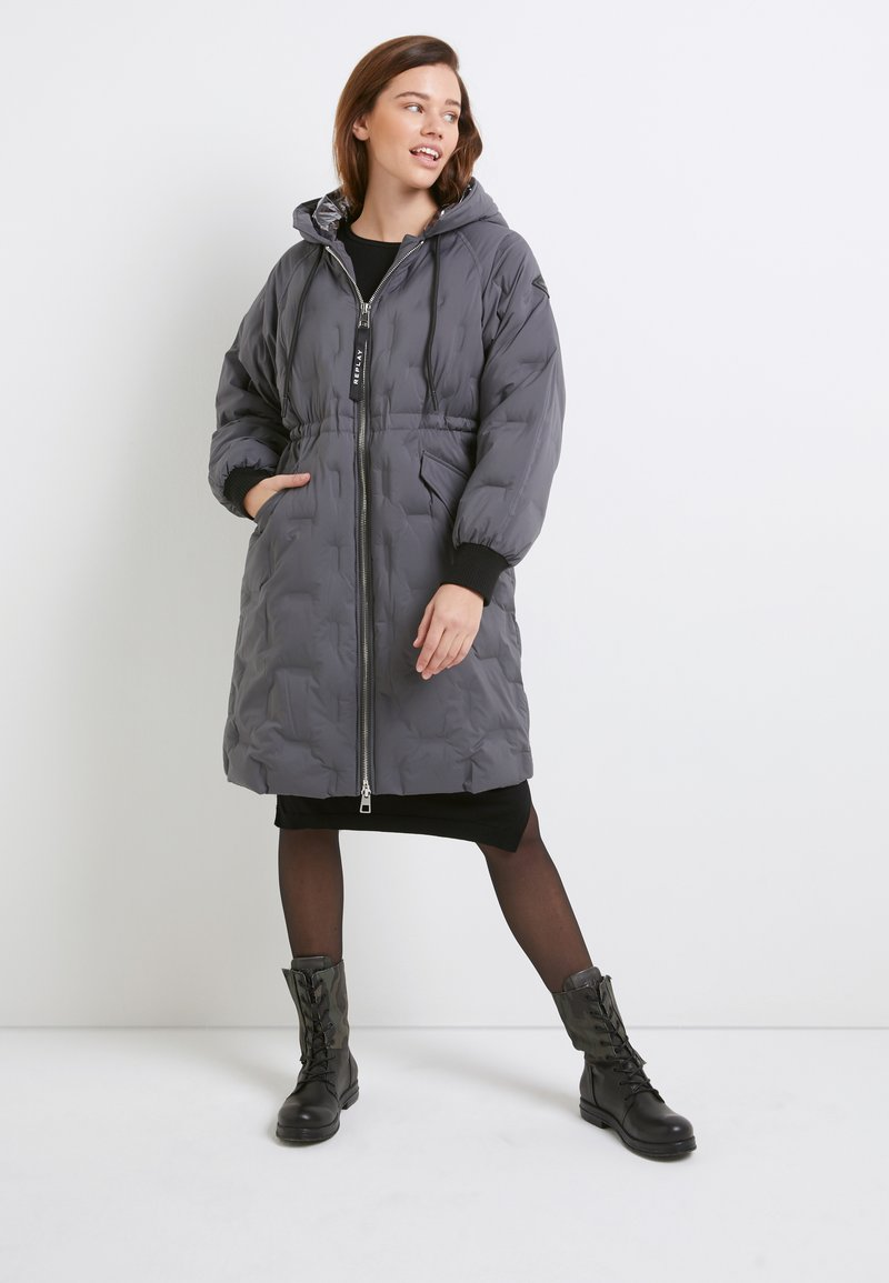 Replay - OUTERWEAR - Winter coat - cold gray