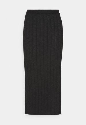 CARANO - Spódnica ołówkowa  - black