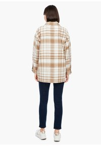 s.Oliver - Light jacket - offwhite check - 2