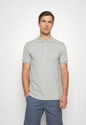 SOLID - Polo shirt - light heather grey