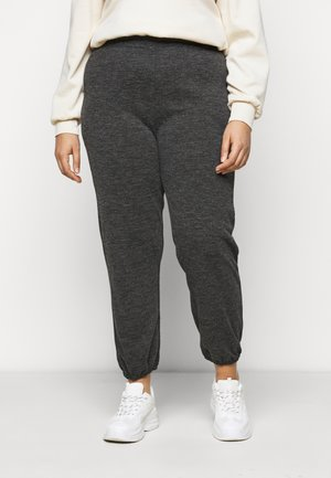 PCRELINO PANTS LOUNGE - Pantalon de survêtement - dark grey melange