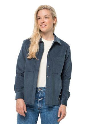 NATURE SHIRT  - Button-down blouse - dark slate