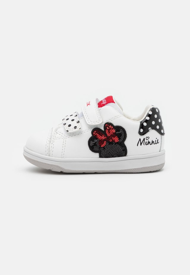 NEW FLICK GIRL DISNEY - Baskets basses - white/black