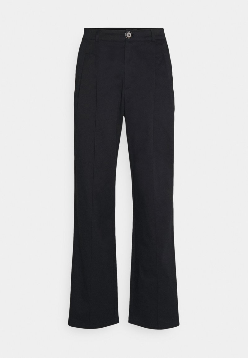 NU-IN - FOUR PLEAT SLOUCHY PANTS - Pantaloni - black