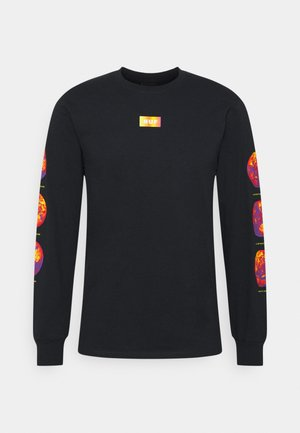 CLIMATE MELTDOWN TEE - Long sleeved top - black