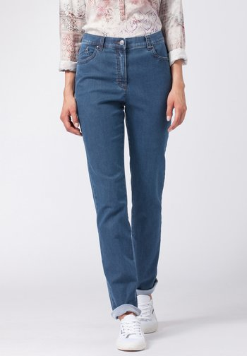 STYLE INA - Slim fit jeans - stoned