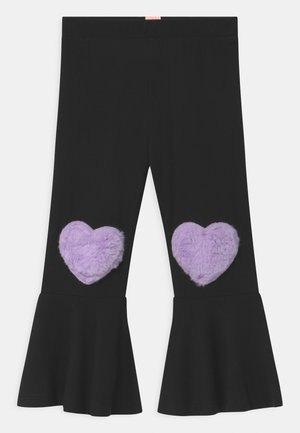 MOVE HEART - Pantalones - black