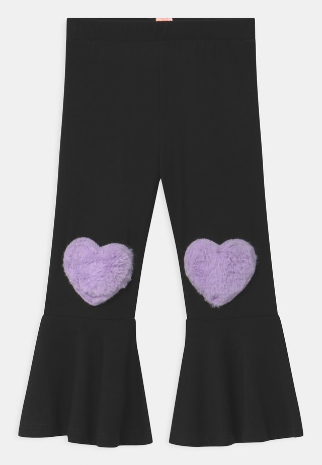 MOVE HEART - Trousers - black