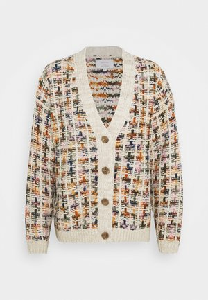 NUBATEL CARDIGAN - Chaqueta de punto - cloud dancer