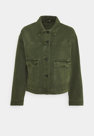 VIMOANO JACKET - Cowboyjakker - forest night/celery binding