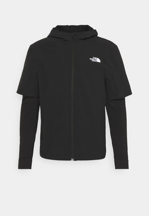 TEKNITCAL FULL ZIP - Bluza rozpinana - black
