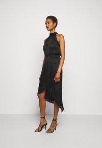 Pinko - AMABILE ABITO HABUTAI RICAMATO - Cocktail dress / Party dress - black - 0