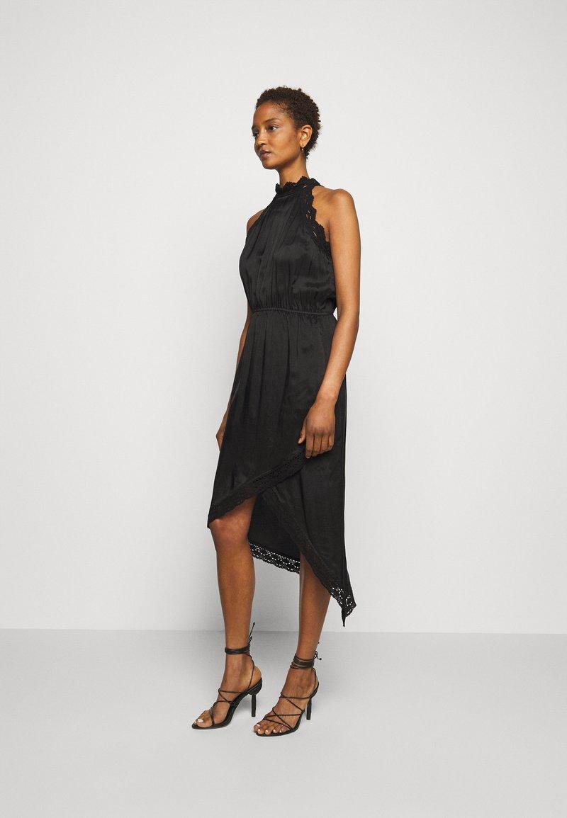 Pinko - AMABILE ABITO HABUTAI RICAMATO - Cocktail dress / Party dress - black