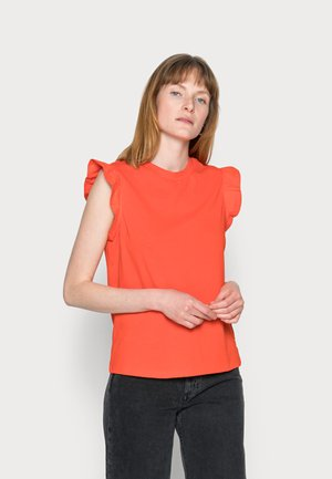 SLEEVELESS  - Top - fire red