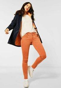 Street One - Jeans Skinny Fit - orange - 1