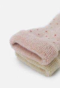 MP Denmark - BABY CARLY SOCKS 2 PACK - Socks - rose dust - 1