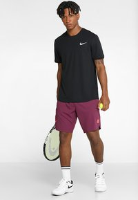 Nike Performance - DRY - T-shirts basic - black/white - 1