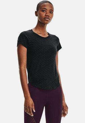 RUNCLIPSE SS - Print T-shirt - black