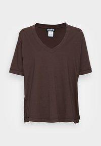 WE TEE - Basic T-shirt - brown